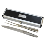 Augusta National Golf Club Clubhouse Carving Knife & Grill Fork in Original Case