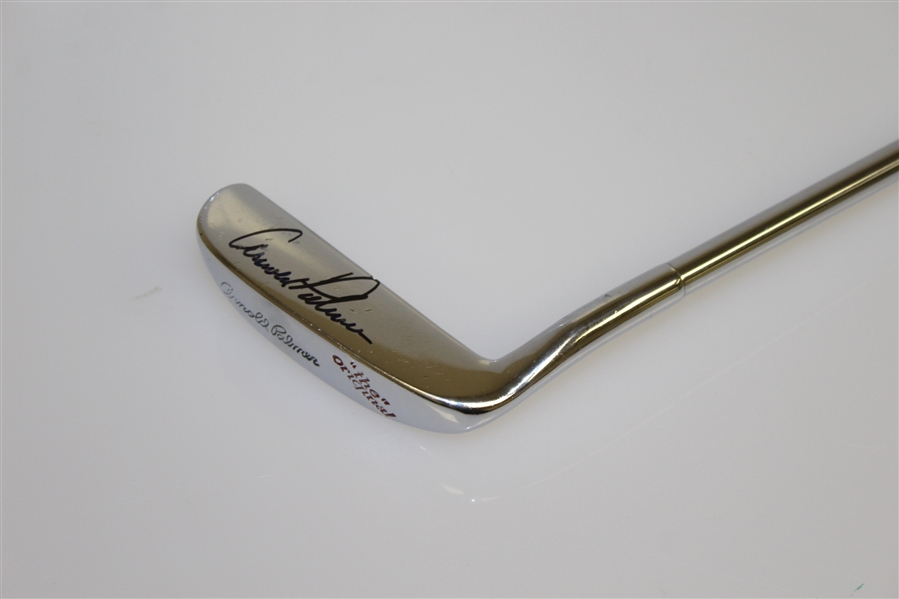 Arnold Palmer Signed 'The Original' 8813 Putter - Signed on the Face JSA ALOA
