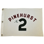 Pinehurst No. 2 Embroidered Course Flown Flag with Letter of Provenance