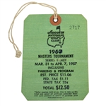 1957 Masters Tournament SERIES Badge #2717 - Doug Ford Winner