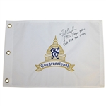 Fred Couples Signed Congressional Flag with 1983 Kemper Open & First PGA Tour Victory JSA ALOA