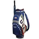 Ray Floyds Vice Captain 2008 Ryder Cup at Valhalla USA Team Golf Bag & Umbrella
