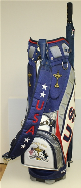 Ray Floyd's Vice Captain 2008 Ryder Cup at Valhalla USA Team Golf Bag & Umbrella
