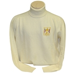 Ray Floyds 1975 Ryder Cup USA Team Issued Cashmere White Uniform LS Turtleneck Shirt