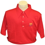 Ray Floyds 1975 Ryder Cup USA Team Issued Uniform Shirts - Red & White