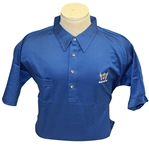Ray Floyds 1981 Ryder Cup USA Team Issued Cotton Uniform Blue Shirt