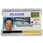 Ray Floyds Masters Tournament Player Identification Badge - 2003