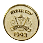 Ray Floyds 1993 Ryder Cup at The Belfry Contestants Pin & Case