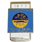 Ray Floyds 1977 PGA Championship at Pebble Beach Contestant Money Clip/Badge