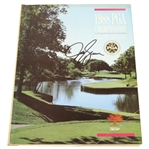 Jeff Sluman Signed 1988 PGA Championship at Oak Tree GC Program JSA ALOA