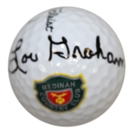 Lou Graham Signed Medinah Country Club Logo Golf Ball JSA ALOA