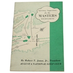1950 Masters Tournament Spectator Guide - Jimmy Demaret Winner