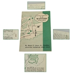 1953 Masters Tournament Spec Guide Signed by Demaret, Wood, Smith, & Nelson JSA ALOA