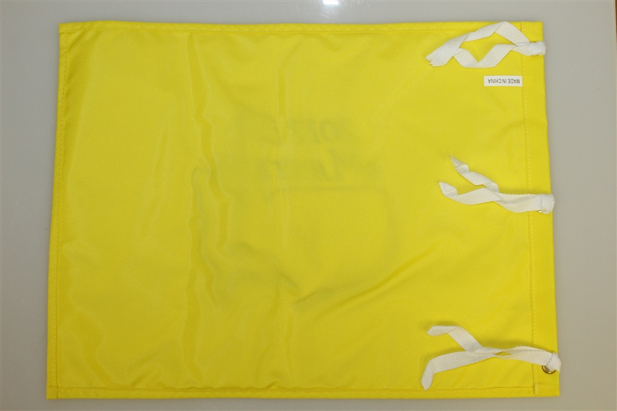 Sergio Garcia Signed 2017 Masters Embroidered Flag JSA #T04995