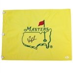 Fred Couples Signed Undated Masters Embroidered Flag JSA #Q23206
