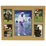 Arnold Palmer Signed Photo with Matted Photo Display - Presidents Cup JSA ALOA