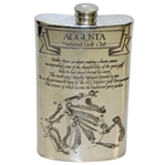 Augusta National Golf Club English Pewter Golf Flask - Great Condition