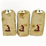 Three Classic Pinehurst Putter Boy Themed Golf Club Covers Set