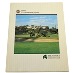 Hal Sutton Signed 1983 PGA Championship at The Riviera CC Official Program JSA ALOA