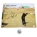 Padraig Harrington Signed 11x14 Photo & Signed Golf Ball JSA #M04682 & #S74108