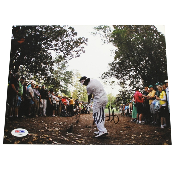 Bubba Watson Signed Spectacular 'Recovery Shot' Photo To Win 2012 Masters PSA/DNA #Y71963