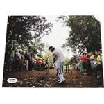 Bubba Watson Signed Spectacular Recovery Shot Photo To Win 2012 Masters PSA/DNA #Y71963