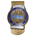 1955 PGA Championship at Meadowbrook CC Contestant Badge - Doug Ford Winner