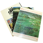 1967, 1972, & 1980 US Open Official Programs - Jack Nicklaus Victories