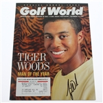 Tiger Woods Signed December 16, 1994 Man of the Year Golf World Magazine JSA ALOA