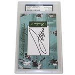 Sergio Garcia Signed 2014 Peerless II Historic Autographs Card PSA/DNA #83532032