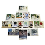 Twelve Signed Ltd Ed, Special Edition, and Miscellaneous Golf Cards JSA ALOA