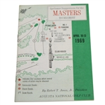 1969 Masters Tournament Spectator Guide - George Archer Winner