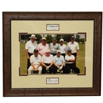 2015 Insperity Invitational 3M Greats of Golf Photo - Framed