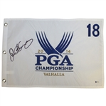 Rory McIlroy Signed 2014 PGA Championship at Valhalla Embroidered Flag BECKETT #D61615