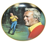 Arnold Palmer Signed Ltd Ed 1983 Athlete of the Decade Plate JSA #Z08506