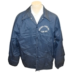 Bill Campbells Virginia-Carolina Team 1976 Blue Rain Jacket