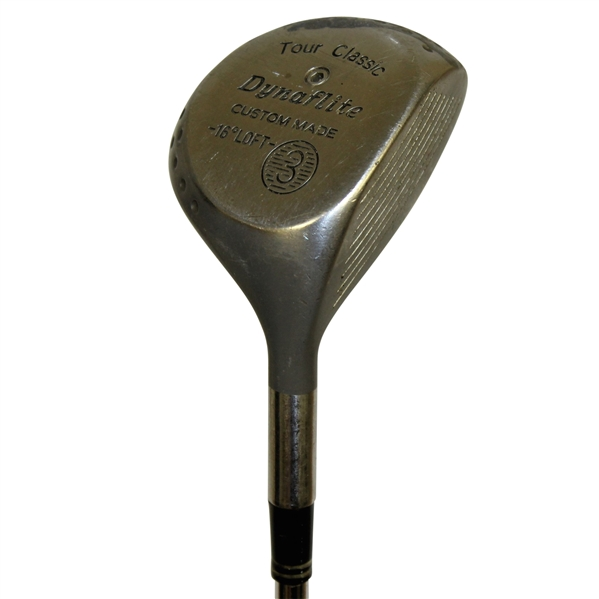 Don Sutton Personal Golf Club Given to Leon Roberts with Letter of Provenance