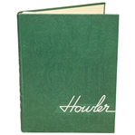 1950 Wake Forest College The Howler Yearbook with Arnold Palmer