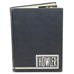 1951 Wake Forest College The Howler Yearbook with Arnold Palmer