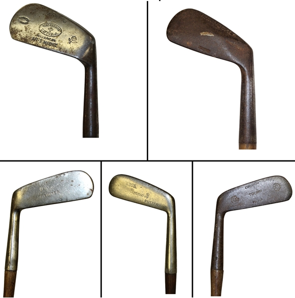 Five Golf Clubs - Airway, Sunningdale, Trump, Tom Thumb, & Bonnie B