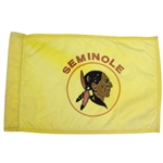 Seminole Golf Club Course Used Embroidered Flag