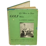 Johnny Farrell Signed & Personalized 1951 If I were in Your Golf Shoes 1st Ed Book JSA ALOA