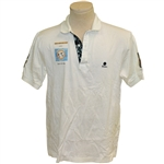 Phil Mickelson & David Toms Signed 2002 Shells World of Golf at World Woods Shirt JSA ALOA