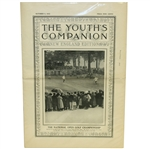 The Youths Companion Oct. 9, 1913 Issue w/Ouimet, Vardon, & Ray on Cover - New England Edition