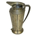 Large Golf Club Lined/Themed Revere Pewter Pitcher