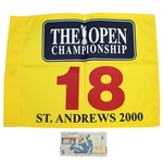 2000 Open Championship at St. Andrews Flag with Jack Nicklaus RBS  £5 Note