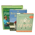 Instructional/Tutorial Golf Books - Tour Tempo, Scramblers Dozen, and Faults & Fixes