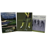 The Rules of the Green, Golfs Greatest Moments, & A Walk in the Park