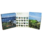 500 Worlds Greatest Golf Holes, 100 Toughest Holes, & Golf Courses of the US Open Books