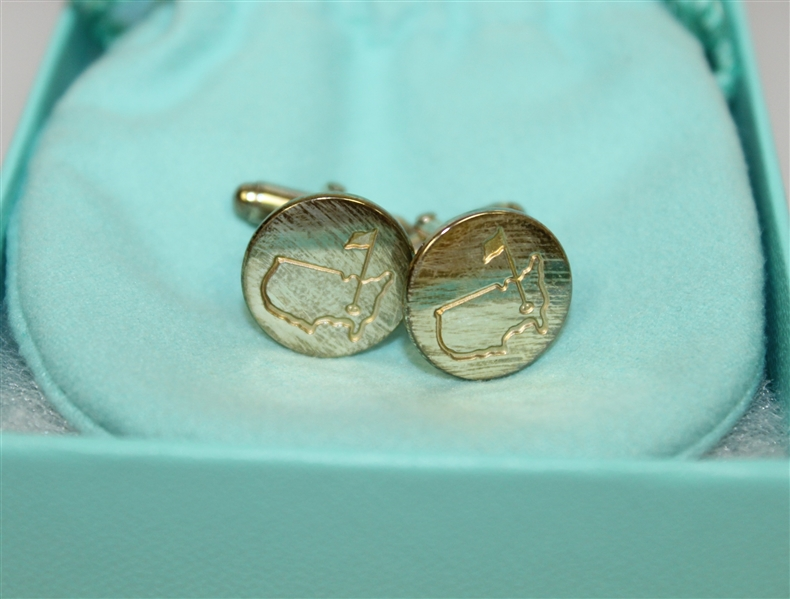 Tiffany & Co. Augusta National Map Cuff Links